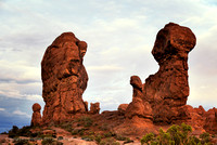 """ Conversation "" Arches NP Utah"
